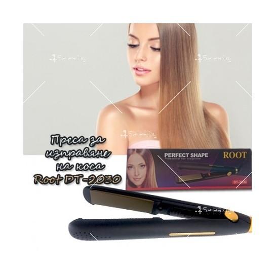 Керамична преса за изправяне на коса ROOT DT-2030
