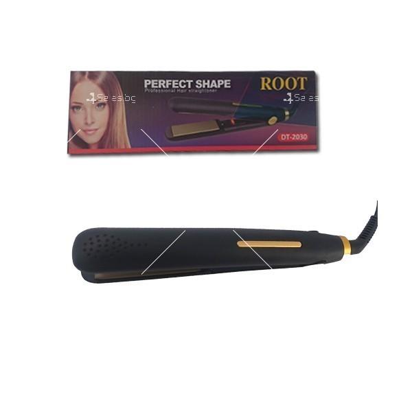 Керамична преса за изправяне на коса ROOT DT-2030 6
