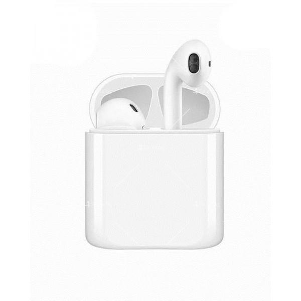Безжични Wireless Bluetooth слушалки i20 със зареждащ кейс 2