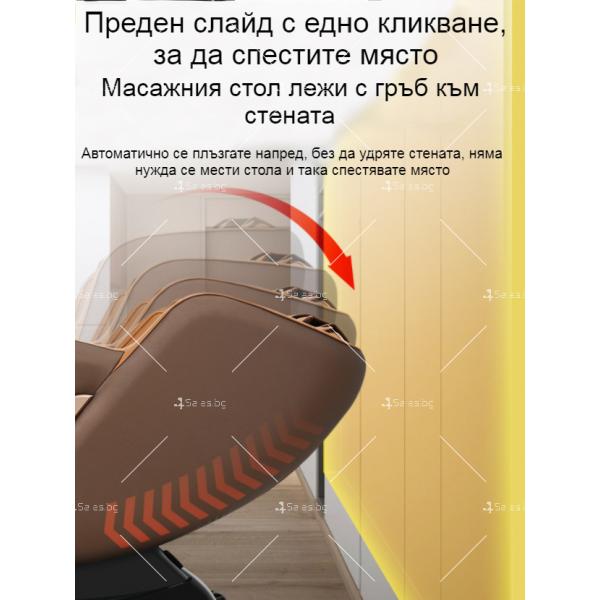 Многофункционален масажен стол за цялото тяло Jiaren S9 с 3D манипулатор 17