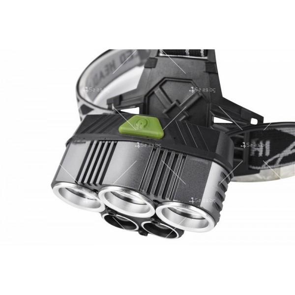 Ново поколение професионален фенер за глава с 5LED светлини - FL53 2