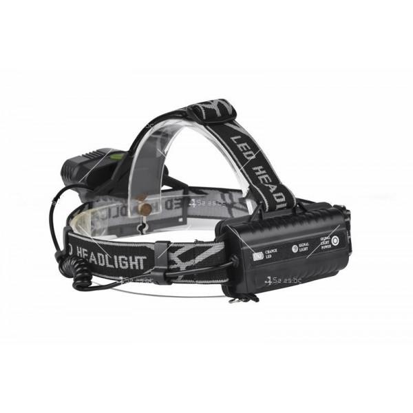 Ново поколение професионален фенер за глава с 5LED светлини - FL53 3