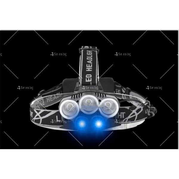Ново поколение професионален фенер за глава с 5LED светлини - FL53 5