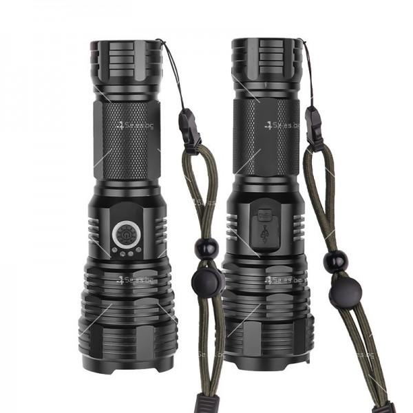 Ново фенерче XHP 70, с телескопично мащабиране на светлинното петно - FL65 4