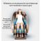 Музикален масажен стол с множество екстри, домашен SPA център F1CLUB А50 10
