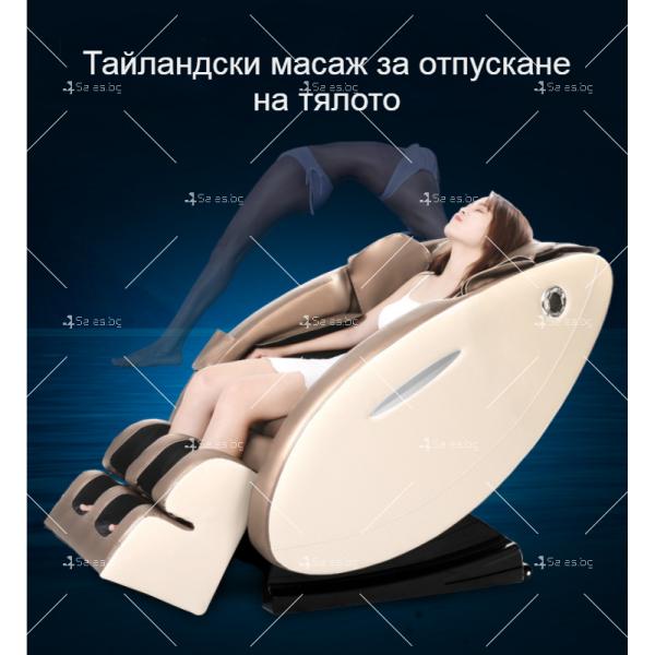 Музикален масажен стол с множество екстри, домашен SPA център F1CLUB А50 15