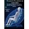 Музикален масажен стол с множество екстри, домашен SPA център F1CLUB А50 22