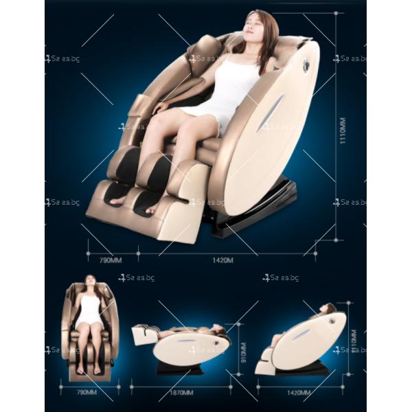 Музикален масажен стол с множество екстри, домашен SPA център F1CLUB А50 29