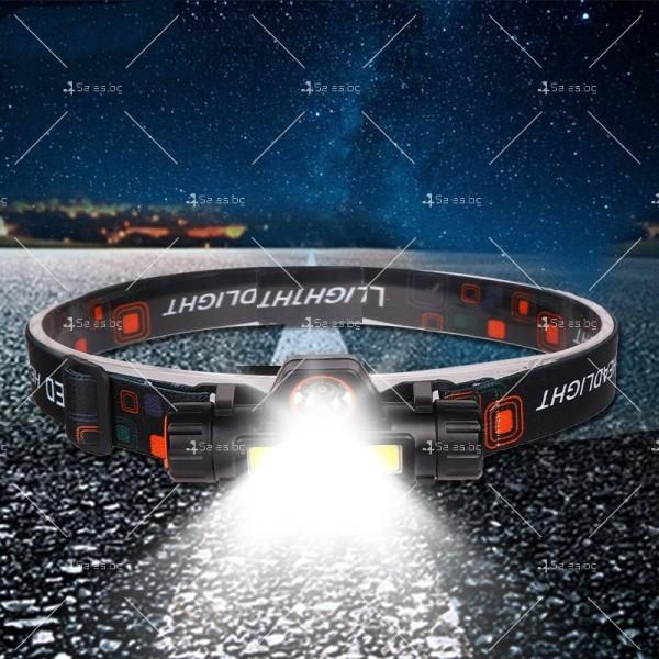 Фенер за глава ZHIYU Q5 от ново поколение, съчетание от XPE + COB светлина - FL61 1