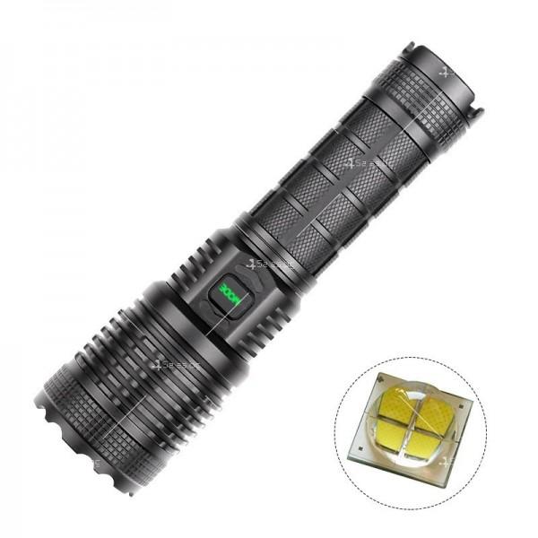 Фенерче с лампа XHP70, с изход USB и ярка светлина - FL70 5