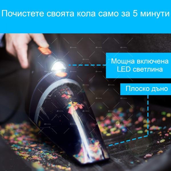 Ръчна преносима автомобилна прахосмукачка 106W мощност TWC-02 - AUTO CLEAN14 8