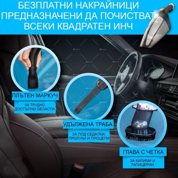 Ръчна преносима автомобилна прахосмукачка 106W мощност TWC-02 - AUTO CLEAN14 10