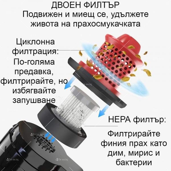 Автомобилна прахосмукачка SONRU 7000Pa с мощност 150W - AUTO CLEAN17 9