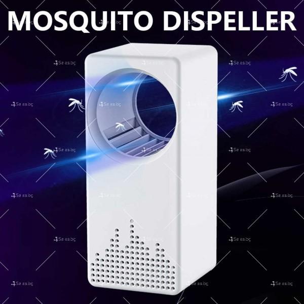 Многофункционална USB лампа против комари 3