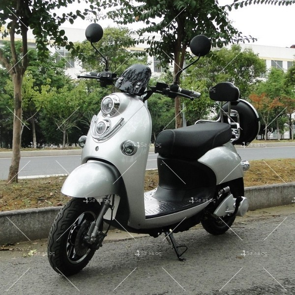 Електрически скутер тип Ретро стил с висока мощност от 1200W - MOTOR8 13