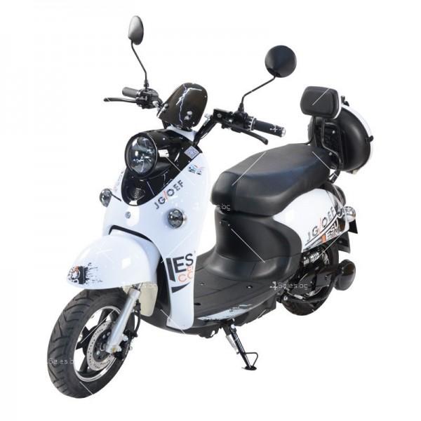 Електрически скутер тип Ретро стил с висока мощност от 1200W - MOTOR8 10