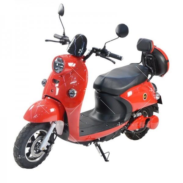 Електрически скутер тип Ретро стил с висока мощност от 1200W - MOTOR8 3
