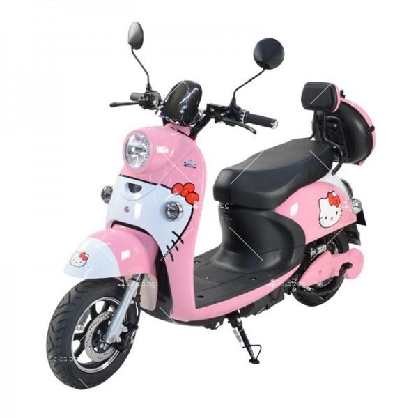 Електрически скутер тип Ретро стил с висока мощност от 1200W - MOTOR8 15