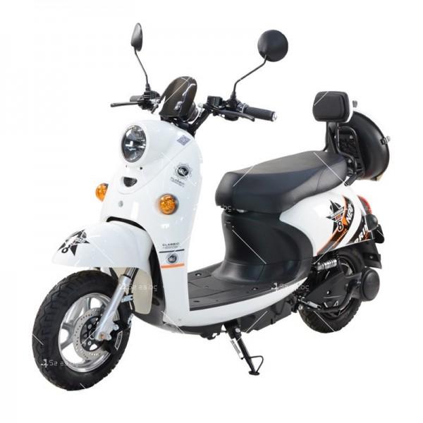 Електрически скутер тип Ретро стил с висока мощност от 1200W - MOTOR8 2