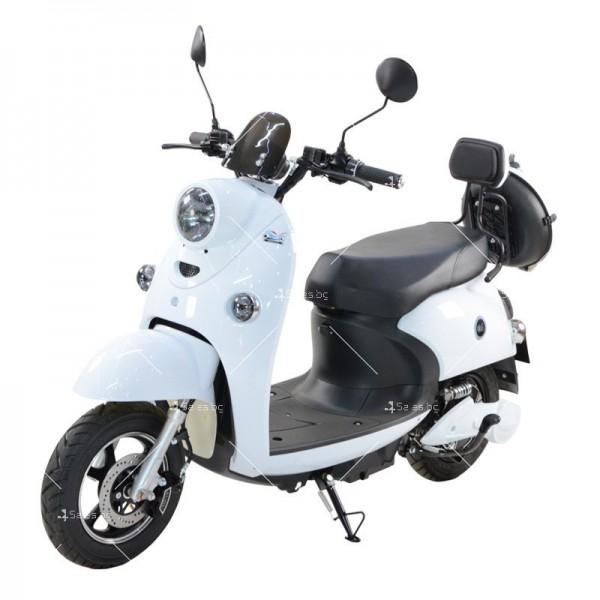 Електрически скутер тип Ретро стил с висока мощност от 1200W - MOTOR8 7