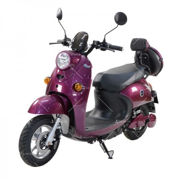 Електрически скутер тип Ретро стил с висока мощност от 1200W - MOTOR8 8