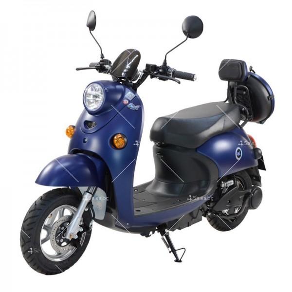 Електрически скутер тип Ретро стил с висока мощност от 1200W - MOTOR8 5