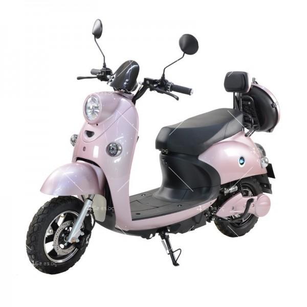 Електрически скутер тип Ретро стил с висока мощност от 1200W - MOTOR8 11