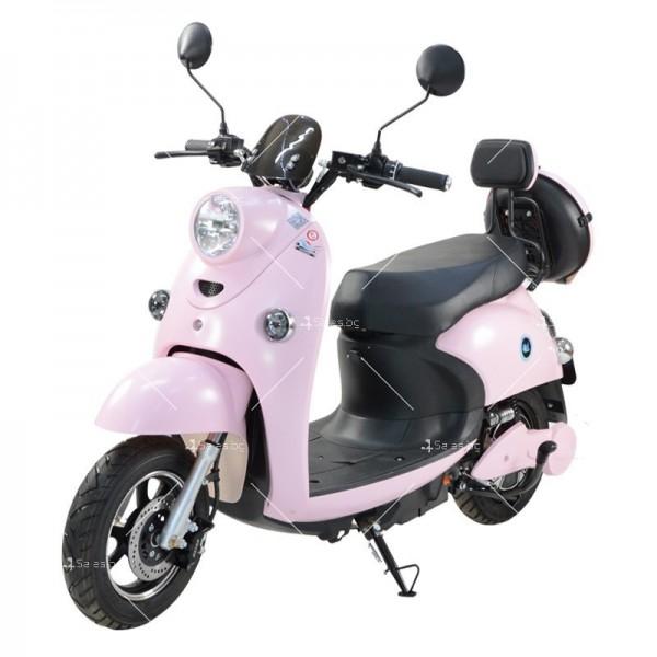 Електрически скутер тип Ретро стил с висока мощност от 1200W - MOTOR8 9