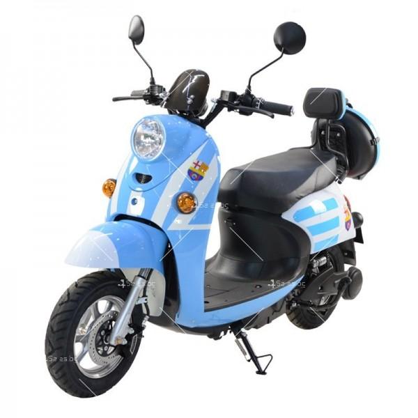 Електрически скутер тип Ретро стил с висока мощност от 1200W - MOTOR8 17