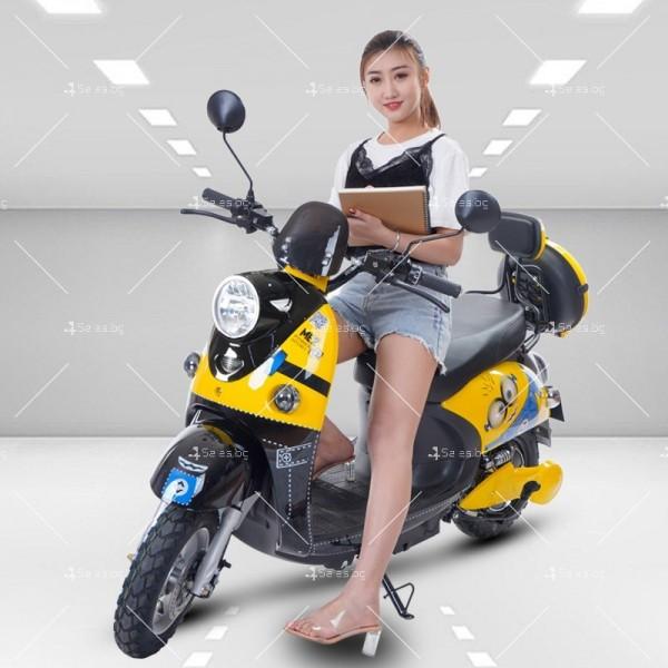 Електрически скутер тип Ретро стил с висока мощност от 1200W - MOTOR8 18