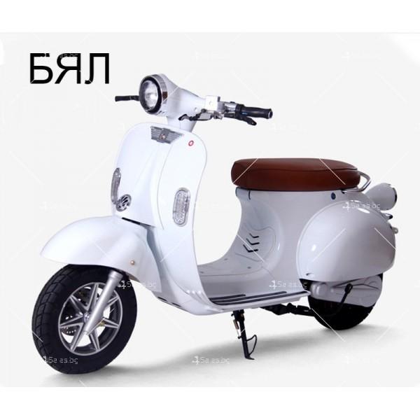 Класически ретро електрически скутер с мощност 1200 W - MOTOR9