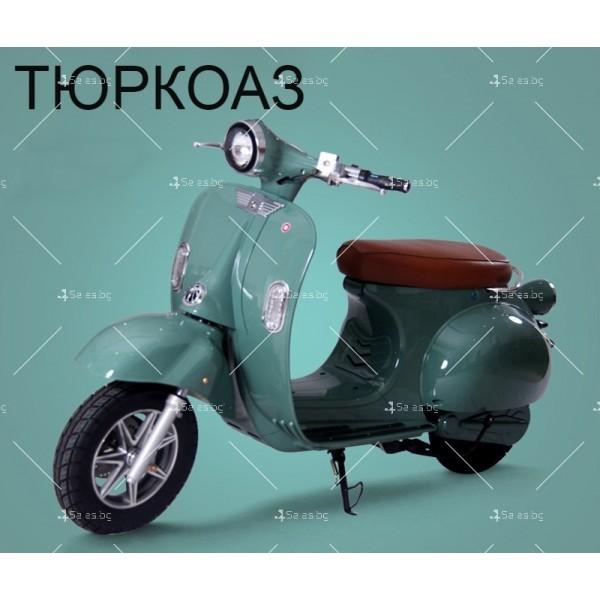 Класически ретро електрически скутер с мощност 1200 W - MOTOR9 3