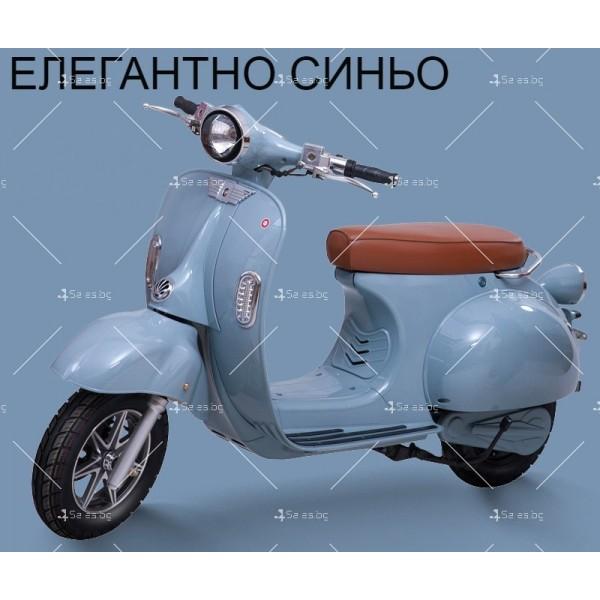 Класически ретро електрически скутер с мощност 1200 W - MOTOR9 4