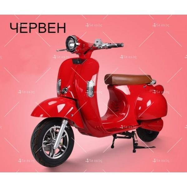 Класически ретро електрически скутер с мощност 1200 W - MOTOR9 6