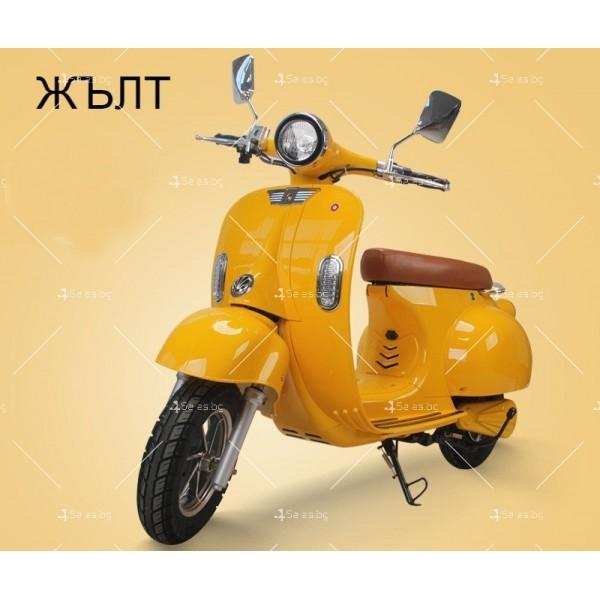 Класически ретро електрически скутер с мощност 1200 W - MOTOR9 7