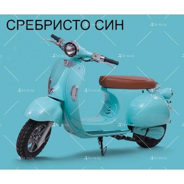Класически ретро електрически скутер с мощност 1200 W - MOTOR9 8