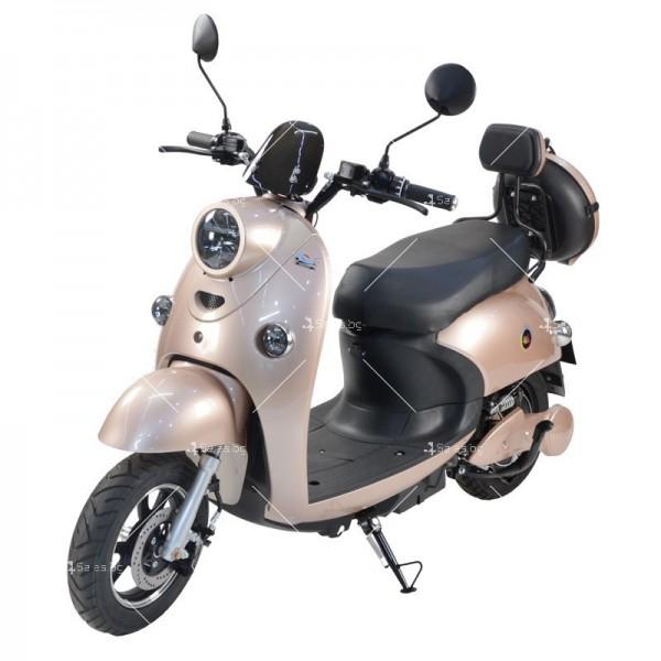 Електрически скутер тип Ретро стил с висока мощност от 1200W - MOTOR8 16