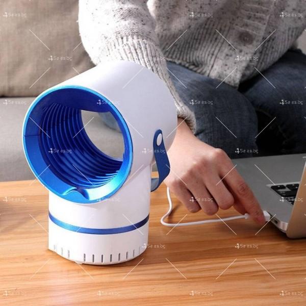 LED лампа против комари 4