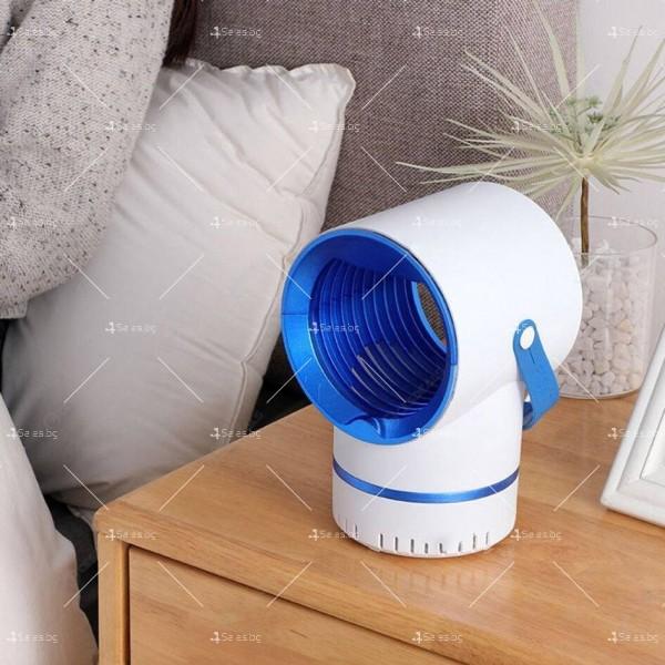LED лампа против комари 6