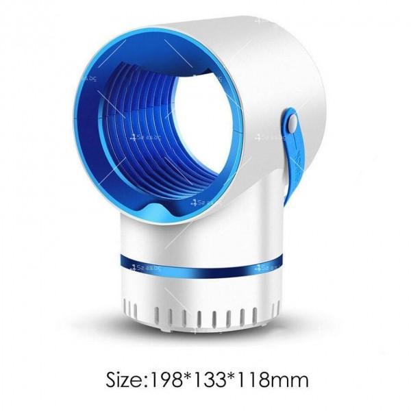 LED лампа против комари 7