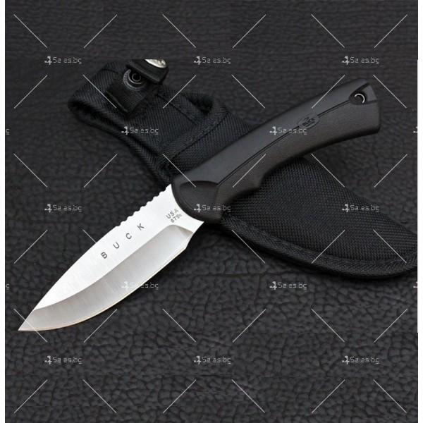 Ловен, тактически нож с водоустойчива дръжка BUCK USA 679