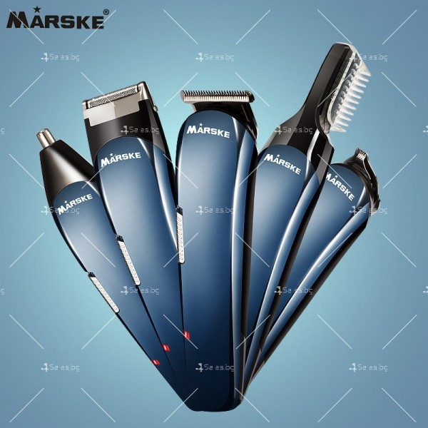 Електрическа самобръсначка МARSKE с 5 накрайника SHAV9 6