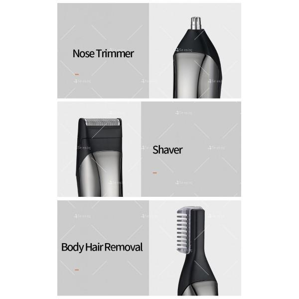 Многофункционална машинка за подстригване на коса 6 в 1 SHAV10 2
