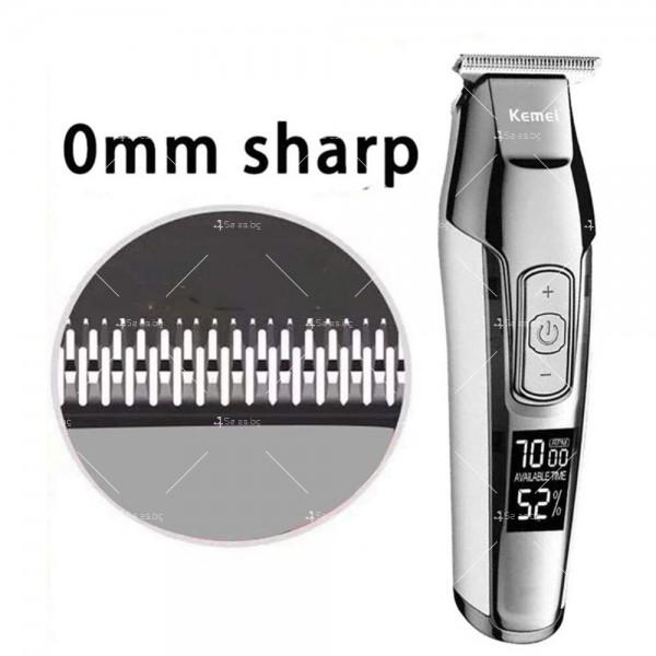 """Машинка за подстригване на коса """"нула номер"""" KM-5027 SHAV16 7"""