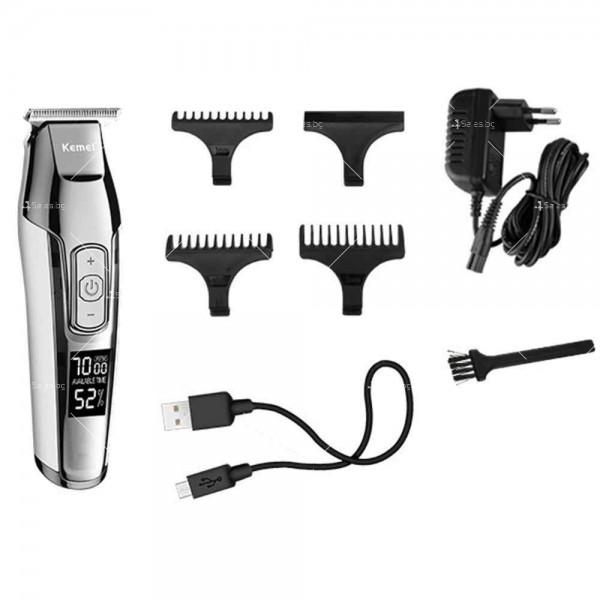 """Машинка за подстригване на коса """"нула номер"""" KM-5027 SHAV16 11"""