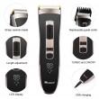 Машинка за подстригване на коса с керамично–титаниево острие и дисплей SHAV20 4