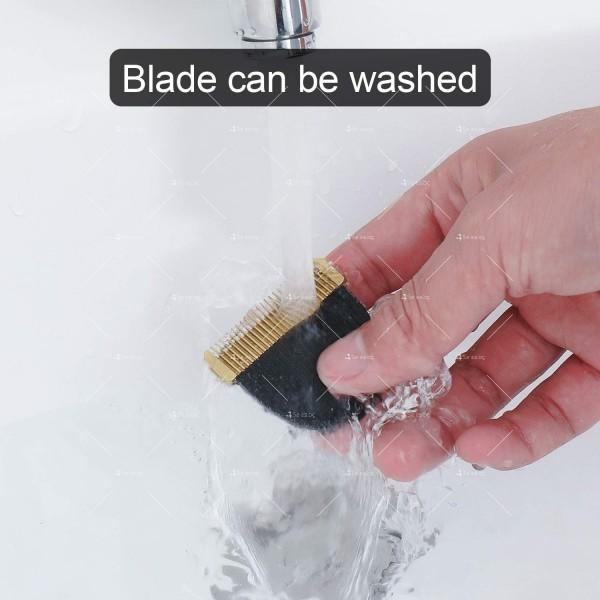 Машинка за подстригване на коса с керамично–титаниево острие и дисплей SHAV20 8