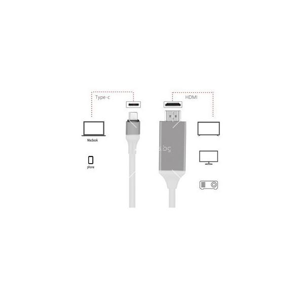 Кабел за зареждане USB-C с дължина 2 метра 6