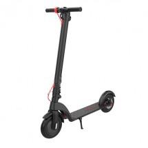 """Алуминиева електрическа тротинетка X7 в черен цвят и гуми 8,5"""" - scooter5"""