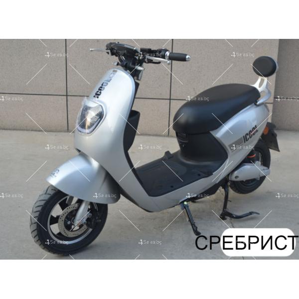 Унисекс електрически скутер 72V20A и мощност 1000W - MOTOR6 9